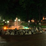"""Vedere nocturna """"Parc"""""""