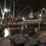 In parc iarna